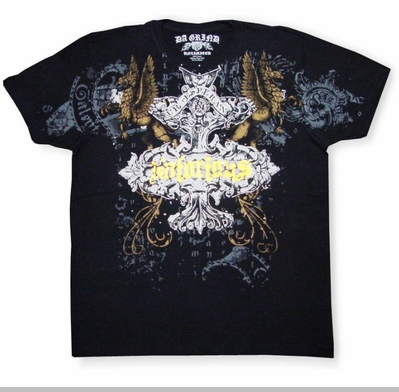 Xzavier Da Grind Notorious Gothic Griffon T-Shirt (Black)<!-- Click to Enlarge-->