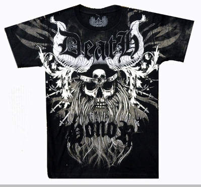 Xzavier Death  Men's T-Shirt (Black)<!-- Click to Enlarge-->