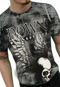 "Xzavier ""Down With Royalty"" T-Shirt (Vintage Wash)"