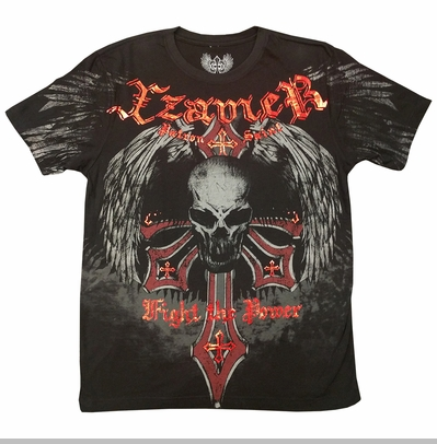 Xzavier Fight the Power Mens T-shirt<!-- Click to Enlarge-->