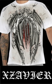 """Xzavier """"Iron Protector"""" Couture T-Shirt"""