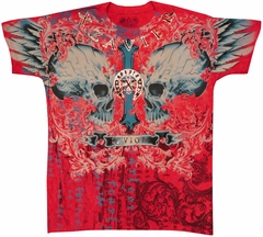 "Xzavier ""Savior II"" Men's T-Shirt (Red)"