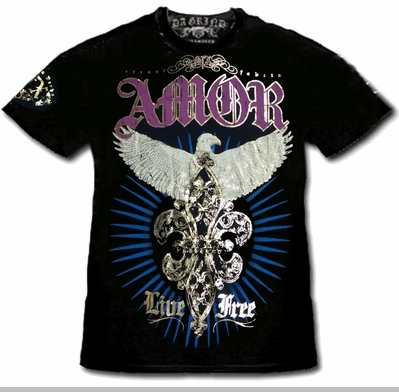 """Xzavier SFX """"Majestic Eagle"""" T-Shirt<!-- Click to Enlarge-->"""
