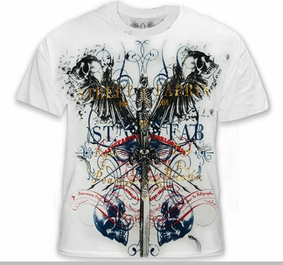 """Xzavier SFX """"Peace & Freedom"""" T-Shirt<!-- Click to Enlarge-->"""