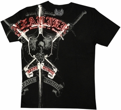 "Xzavier ""Strength & Courage"" Men's T-Shirt (Black)"