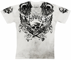 "Xzavier ""Triple X Bones"" Men's T-Shirt (White)"