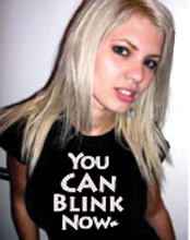You Can Blink Now T-Shirt