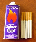 Zippo Lighter Fluid for Zippo's and Oil Lighters