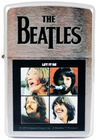 Zippo Lighters - The Beatles Let It Be Zippo Lighter