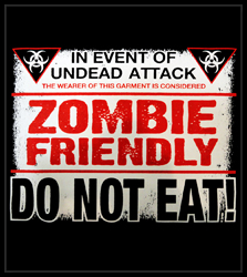 Zombie Friendly Men's T-Shirt