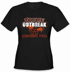 Zombie Response Team Girl's T-Shirt