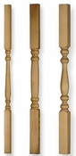 "2"" and 3"" Cedar Balusters"