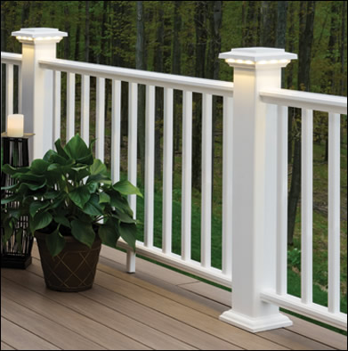 AZEK® Newel Post Sleeves | Buy Online or Get Samples