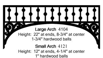 Large and Small Arch