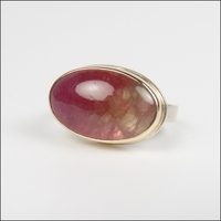 Smooth Oval Pink Tourmaline