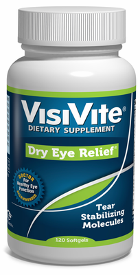Dry Eye Relief - Tear Stabilization Formula 120 Softgels