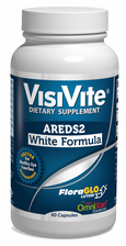"<strong>NEW!</strong> VisiVite AREDS 2 No-Zinc ""White Formula"" Veg Caps with Natural Lutein and Zeaxanthin"