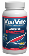"VisiVite® AREDS 2 ""Red Formula"" Veg Caps with Natural Lutein and Zeaxanthin"