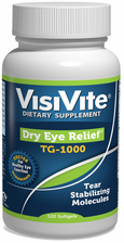 Dry Eye Relief® TG-1000 Nutritional Formula - 120 Softgels