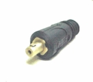 "707.2524 Dinse Connector 1/2"" Flow-Thru (24 Series, 80 Amp)"