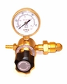 "Gas Regulator AR / Co2 Single Gauge CGA580 X 1/4"" Hose Output"