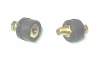 "SE35-70 MALE 1/2"" Dinse Connector - 400 Amp (1-Pack)"