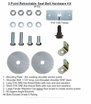 3 Point Retractable Seat Belt Mounting Hardware Kit #104