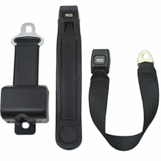 "8"" Long Housing Retractable Golf Cart Seat Belts"