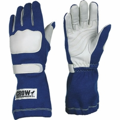 Long Gauntlet Nomex Gloves by Crow - 2 Layer SFI-5 Rated
