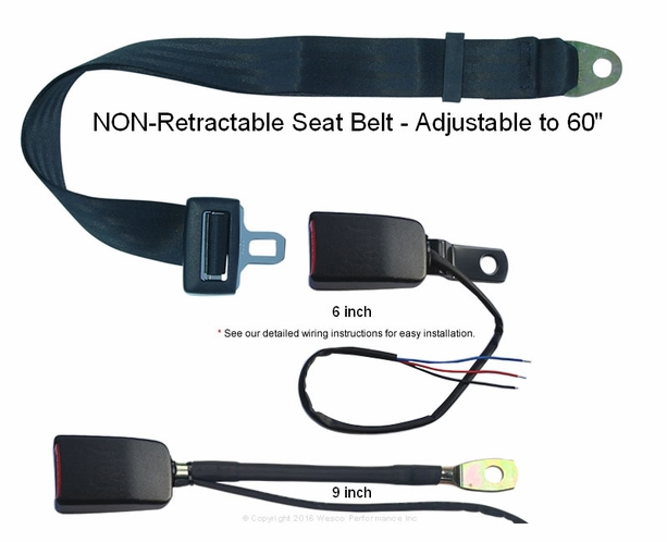 safety micro switch forklift non retractable seat belt circuit micro switch forklift tractor non retractable seat belt circuit closed