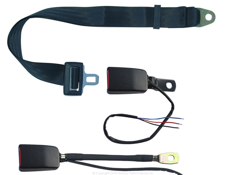 forklift seat belts micro switch forklift tractor non retractable seat belt circuit closed