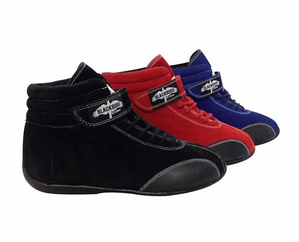 Mid-Top Kids Junior Racing Shoes by Crow - alternative view 1
