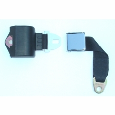 Retractable Chrome Lift Lever Buckle Golf Cart Seat Belt