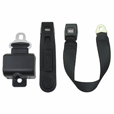 "Retractable Golf Cart Seat Belt (ALR 5"" Short Housing Belt)"