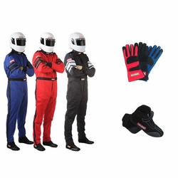 SFI-5 One Piece Auto Racing Suit Packages