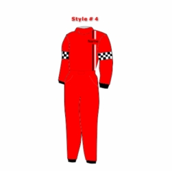 Style # 4 Racequip Drivers Suits Custom