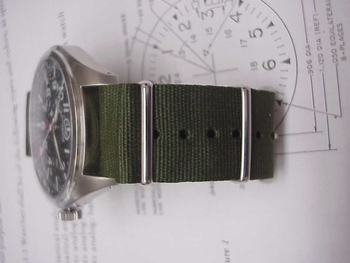 GREEN - real OD in Nato/G10 bands up to size 22 mm