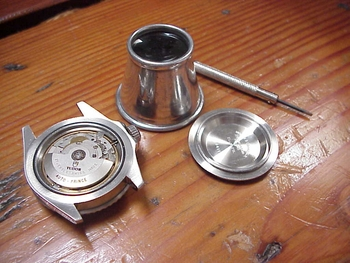 Loupe-Magnifier for Watches and watch movements