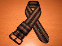 Maratac™ Bond® Strap<br/>2 Ring Blackend Stainless<br/>BOND SERIES M-1