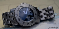 NEW German-Swiss 1000 Meter Diver - Bead Blasted Finish