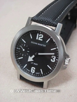 The black dial Ocean Master with Pointer hands