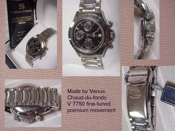VENUS  Chronograph ES quality that you can see