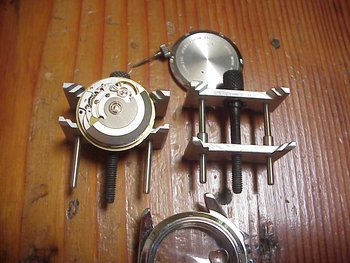 Watch MOVEMENT holder - aluminum