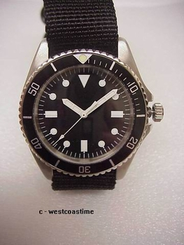 WCT-YAO Benrus Type I diver NEW