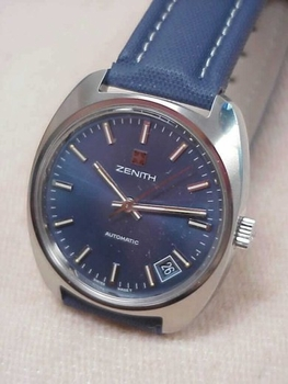 "Zenith NOS watch ""the best"" Surf series"
