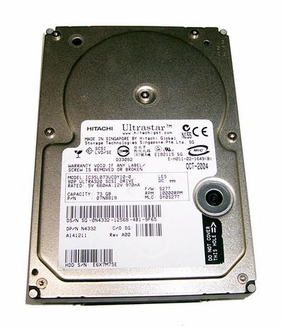 07N8818 Hitachi UltraStar, Internal Hard Drive, 73GB