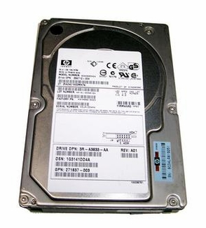 286712-004 HP/Compaq, Internal Hard Drive, 36GB