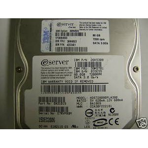 39M3701 IBM/Lenovo, Internal Hard Drive, 80GB