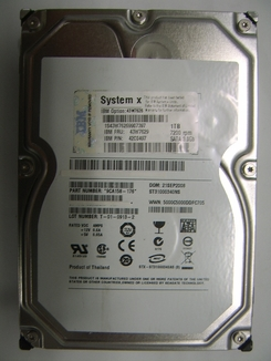 43W7629 IBM, Internal Hard Drive, 1000GB(1TB)