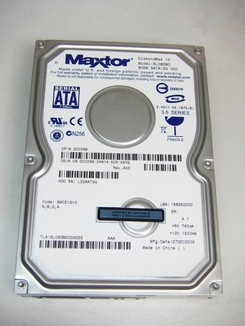 6L080M0 Maxtor Diamondmax, Internal Hard Drive, 80GB